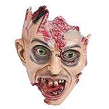 Lywhome Halloween Scary Blutige Maske Party Kostüm Accessary Spielzeug Zombie Maske,B