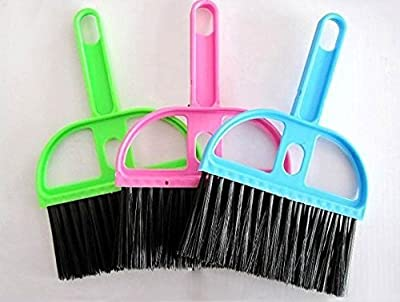 Mini Dustpan &Brush Desk Table Top Keyboard Netbook Handy Cleaner Whisk(ramdon color) : everything £5 (or less!)