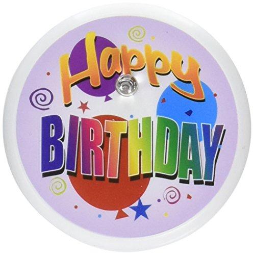 Beistle BL013Happy Birthday Blink Button, 2Zoll -