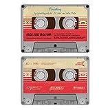 Einladungskarten zum Geburtstag (40 Stück) als Kassette / Musikkassette Motiv Einladung
