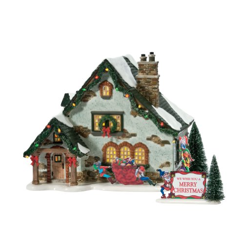 Department 56Dörfer-Die Elf House -