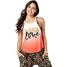 Zumba Fitness Love - camiseta de tirantes para mujer, Amor, Mujer, color Coral Craze, tamaño XXL