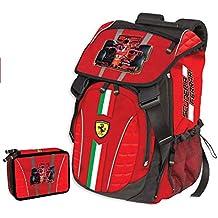 Ferrari - Mochila Infantil Rojo Rojo