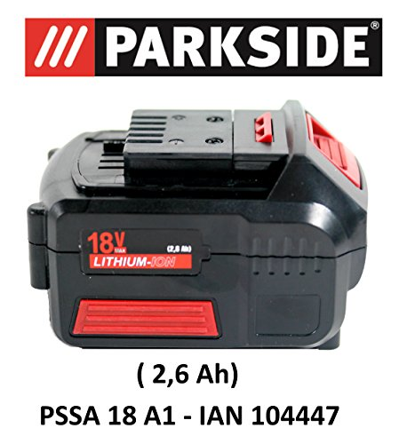 PARKSIDE AKKU 18V 2,6Ah PAP 18-2.6 A1 für PSSA 18 A1 - IAN 104447 Akku Säbelsäge