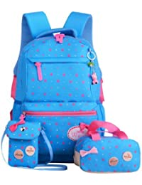 Imported And New Creative Waterproof School Sky Blue Bags