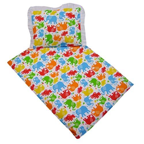 rawstyle 4piezas Baby Juego de ropa de cama para bebé (Blanco +...