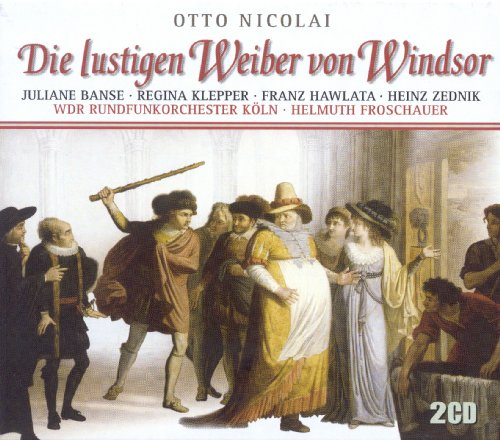 Die lustigen Weiber von Windsor (The Merry Wives of Windsor): Act III: Ihr Elfenm weiss und rot und grau (Chorus, Titania, Oberon, Elves, Hunter Herne, Whole Chorus, Falstaff, Ballerinas)