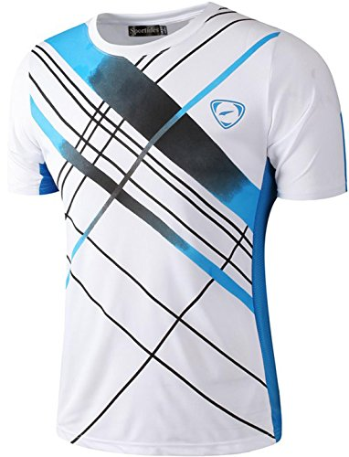 Summer Short Sleeve Quick Dry Breathable Leisure Sport Cycling Running T-shirt Men Ciclismo Camping Hiking Outdoor T Shirt Carefully Selected Materials Hiking T-shirts