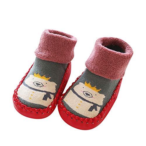 XuxMim Rutschfeste Stiefel Socken Kinder Baby Cartoon warme -