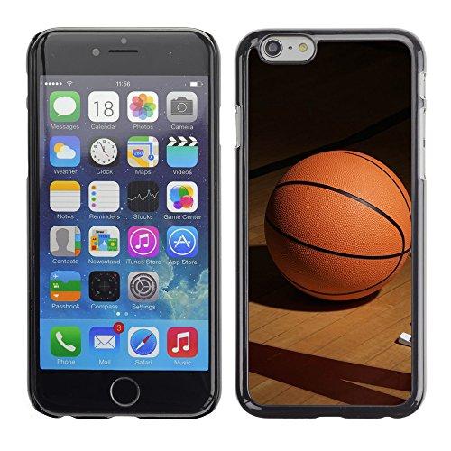 Graphic4You Basketball Korbball Spiel Sport Thema Design Harte Hülle Case Tasche Schutzhülle für Apple iPhone 6 / 6S Design #3
