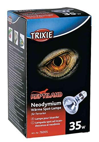 Trixie 76005 Neodymium Wärme Spot-Lampe, 35 W ø 63/100 mm