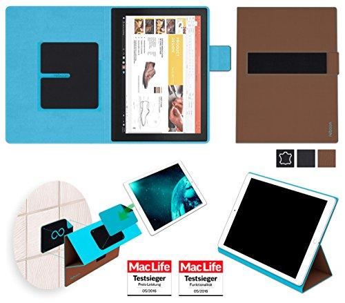 Hülle für Lenovo ThinkPad X1 Tablet (2017) Tasche Cover Case Bumper | in Braun | Testsieger