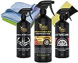 King of Sheen - Kit de nettoyage pour voiture extérieur