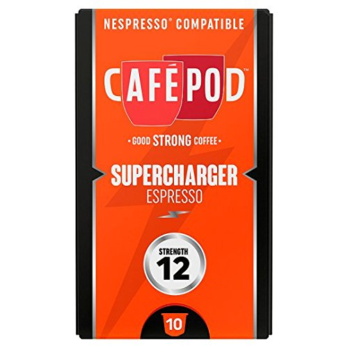 Find Cafepod Supercharger 10 Pack 55G by Cafepod