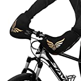 Ploufer Bike Lenker-Schutzhandschuhe, warme Dicke Windschutzscheibe regendicht Winter Verdickungshandschuhe für Mountain Road Bike Fahren