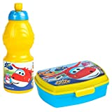 Super Wings – Sandwich Set & Flasche 400 ml (COLORBABY 76792)