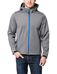Ultrasport Herren Softshelljacke Salt and Pepper