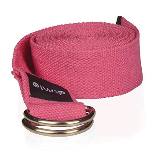 diMio Yogagurt aus Baumwolle 240cm Länge und 5 Farben [PINK]
