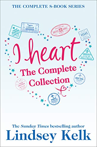 Lindsey Kelk 8-Book 'I Heart' Collection: I Heart New York, I Heart Hollywood, I Heart Paris, I Heart Vegas, I Heart London, I Heart Christmas, I Heart Forever, I Heart Hawaii (English Edition) (New Store York Heart I)