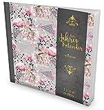GOCKLER® 3 Jahres Kalender: 190+ Seiten Journal für 3 Jahre || Glänzendes Softcover || Ideal als Tagebuch, Terminplaner, Notizkalender oder Tagesplaner || DesignArt.: Flamingo