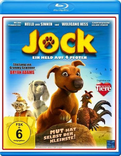 Jock the Hero Dog ( Jock ) [ Blu-Ray, Reg.A/B/C Import - Germany ]