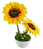 Magical Petals Couple Yellow Sunflower A...
