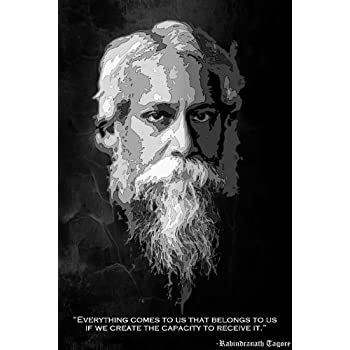 Posterboy 'Rabindranath Tagore' Poster (30.48 cm x 45.72 cm)