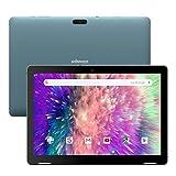 Tablette Tactile 10-Pouces Android 9.0 - Winnovo T10 3 Go RAM 32 Go Stockage Quad Core Processeur Écran HD IPS Audio Stéréo Gyroscope 3D Accéléromètre Wi-FI HDMI GPS Chassis en Metal (Bleu)