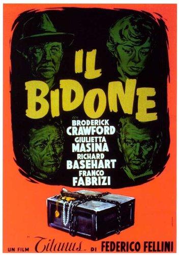 The Italian Swindle Movie Poster, 69 x 102 cm Broderick Crawford Giulietta Masina Richard Basehart Franco Fabrizi Sue Ellen Blake