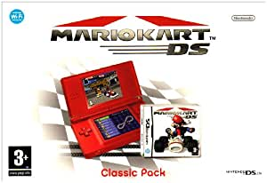 nintendo ds lite console red with mario kart bundle nintendo ds pc video games. Black Bedroom Furniture Sets. Home Design Ideas