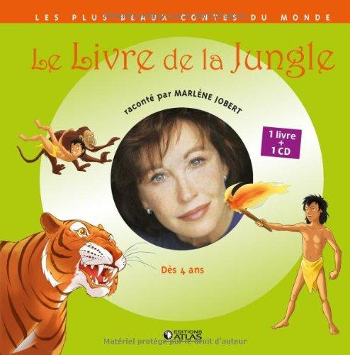Le livre de la jungle (1CD audio) par Marlène Jobert