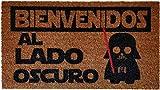 Koko Doormats Felpudo Lado Oscuro, Nylon, Marrón, 70x40x0.5 cm..