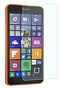 PES Premium Tempered Glass,2.5D Hardness, Ultra Clear Shatter Proof, 9H Hard Screen Protector,Anti-Fingerprints & Oil Stains For Microsoft Lumia 640 Dual Sim