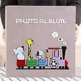 MOGEYX Album DIY interstitiel Mixte 567810 Pouces Album Photo Fait Main à la Main Cet Album Album Familial Album de Croissance, B11...