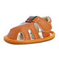 Baby Sandals Tassel Summer Toddler Infant Slipper Shoes 0-2 Years (0-6 Months | Heel-to-Toe 11cm, Brown)