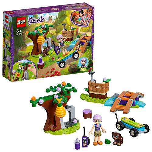 LEGO 41363 Friends Mia's Forest Adventure Building Set, Mia mini-doll and Animal figures, Forest Toys for Kids Best Price and Cheapest