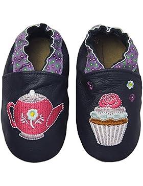 Rose & ChocolatRCC Sweet Tea - Pantuflas de Aprendizaje Bebé-Niños