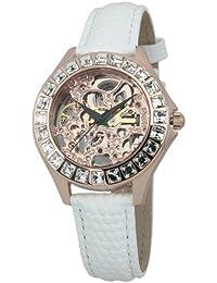 Burgmeister Damen-Armbanduhr Merida Analog Automatik Leder BM520-306