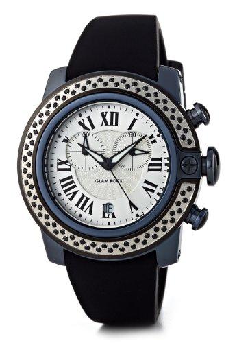 Glam Rock Reloj SoBe SB3002 Negro