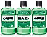 Listerine Fresh Burst Mouthwash 250ml (Buy 2 Get 1 Free)