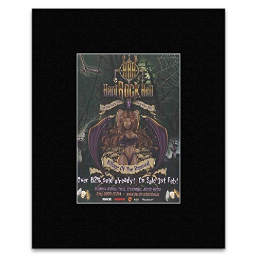 ck Hell Festival - 2011 - Prestatyn North Wales. Mini-Poster, 28,5 x 21 cm ()