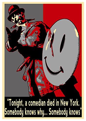 (Instabuy Poster Watchmen – Die Wächter Propaganda Quotes Rorschach - A3 (42x30 cm))