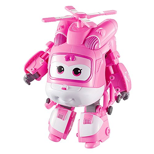 SUPER WINGS YW710040   DIZZY  JET TRANSFORMABLE  ROSADO