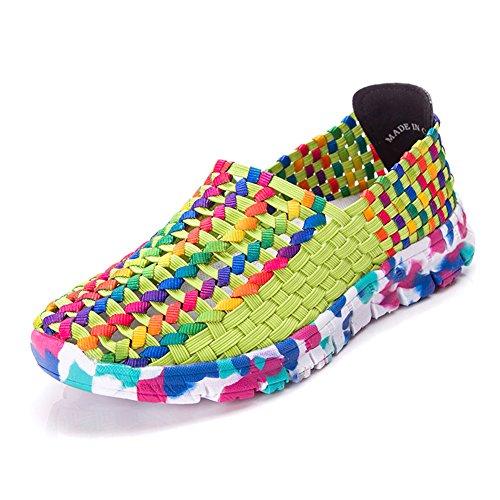 Paris Hill  Euph033,  Damen Sneaker Low-Tops Gelb
