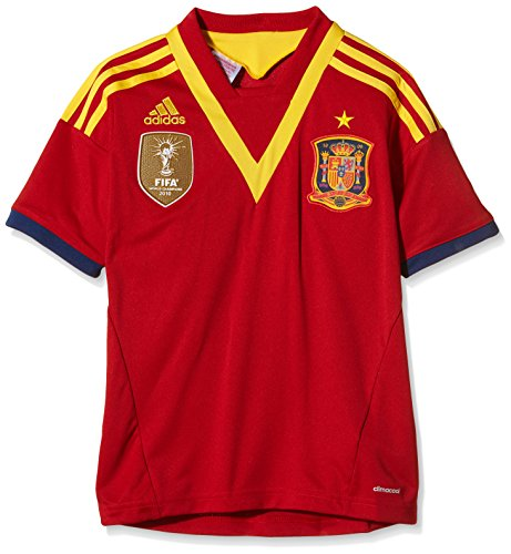 adidas Erwachsene Trikots Spanien Home, Unired/Real Blue/Sunshi, 176, X53322