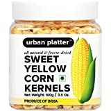 Urban Platter Freeze-Dried Sweet Corn Kernels 100 Grams