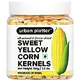 Urban Platter Freeze-Dried Sweet Corn Kernels, 100g [All Natural, Gluten-Free, 2 Years Shelf Life]
