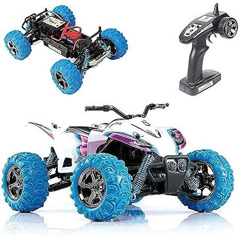 GP TOYS S609 RC Cars Rirder 5 Monster Truck, Controllo Remoto Fuoristrada, Motociclo Gioco all'Aperto, RTR Mini Rc toys 4 WD Alta Velocità ATV