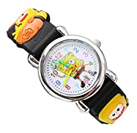 NEW Lovely SpongeBob SquarePants children kids cartoon Watch silicone Watches WP@KTW135940B