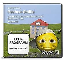 Rechen-Smilie 3.0: Lernsoftware zu den Kieler Zahlenbildern. Zahlenraum 1-100. Version 3.0